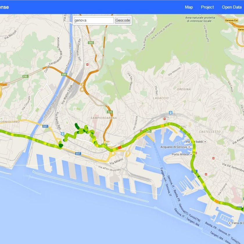 SmartRoadSense Genova