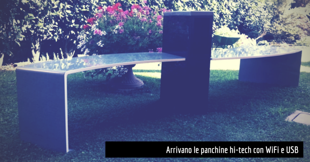 panchine wifi