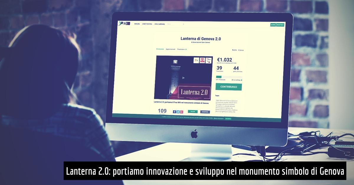 Crowdfunding Lanterna di Genova: portiamo il WiFi nel monumento simbolo della città