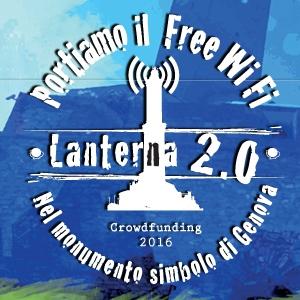 Crowdfunding Lanterna 2.0: portiamo il WiFi nel simbolo di Genova