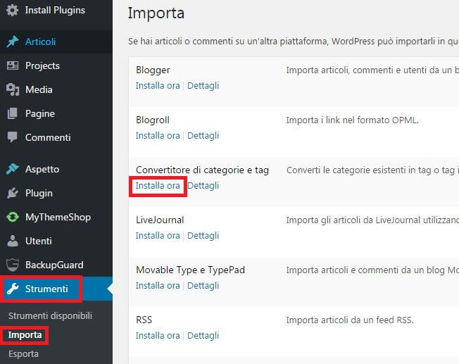 installa-convertitore-categorie-tag-wordpress