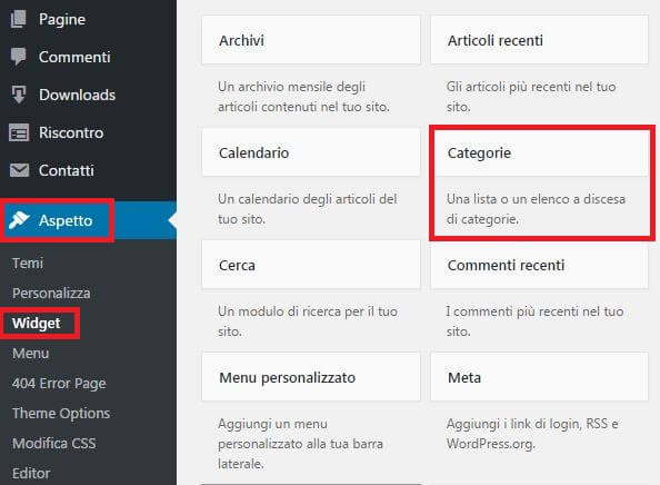 mostra-categorie-wordpress-in-barra-laterale