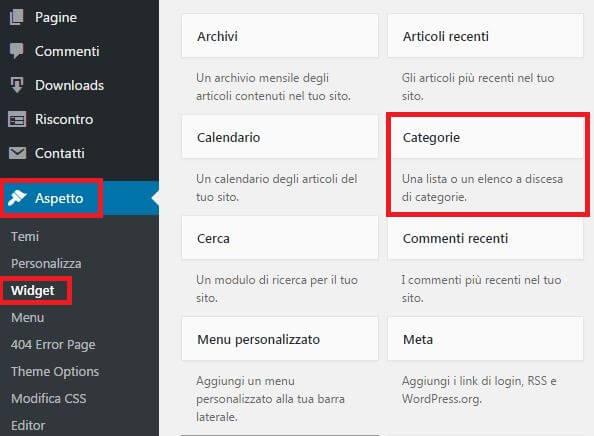 mostra-categorie-wordpress-in-barra-laterale