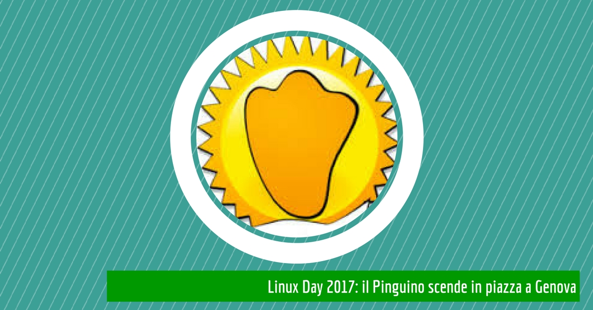 Linux Day Genova 2017: il Pinguino scende in piazza