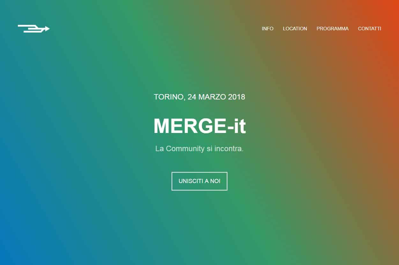 MERGE-it 2018: il 24 marzo raduno delle community che si occupano di cultura e libertà digitali